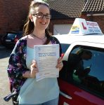 Jade passed first time