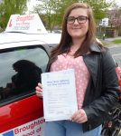 Paige passed first time