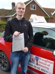 Anders took driving lessons with the Broughton School of Motoring in Scunthorpe