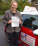 Brittany took driving lessons in Scunthorpe