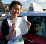 Swee passed her driving test in Scunthorpe with the Broughton School of Motoring