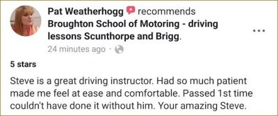 Pat-review-driving-lessons-Scunthorpe