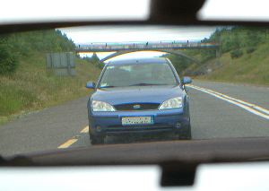 Car following