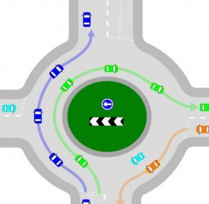 driving lesson tips - judging gaps at roundabouts