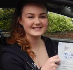 Amy took driving lessons in Scunthorpe