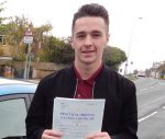 Bradley passed his test first time in Scunthorpe