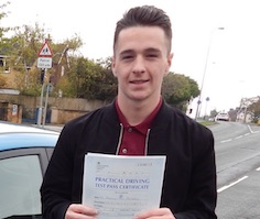 Bradley too driving lessons in Scunthorpe