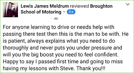 Driving lessons in Scunthorpe - review