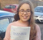 Lucy took driving lessons in Scunthorpe with the Broughton School of Motoring