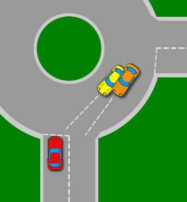 When to go at roundabouts