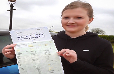 Harriet passed with zero faults