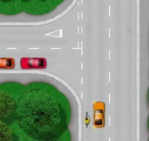 Left turn hazards
