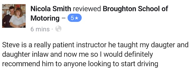 Nikki review driving lessons Scunthorpe