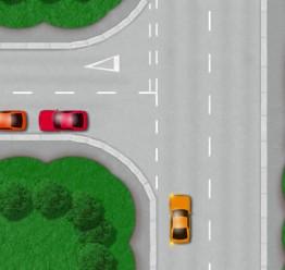 Open left turn