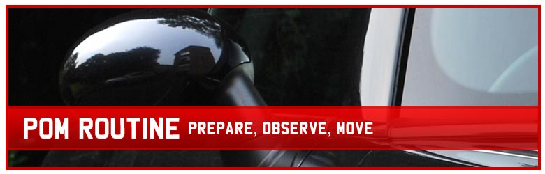 Prepare, observe, move