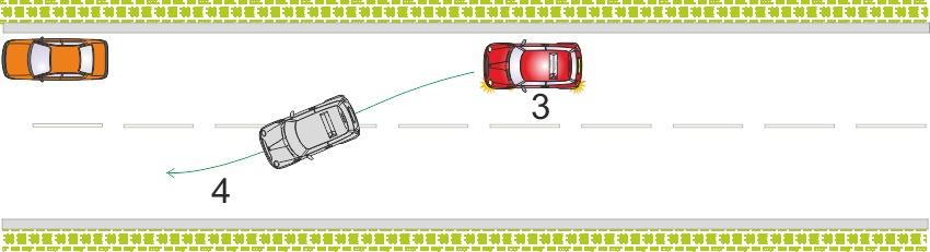 Driving test reversing